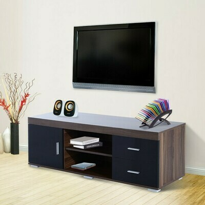 HOMCOM® TV Lowboard Fernsehtisch Sideboard 140cm