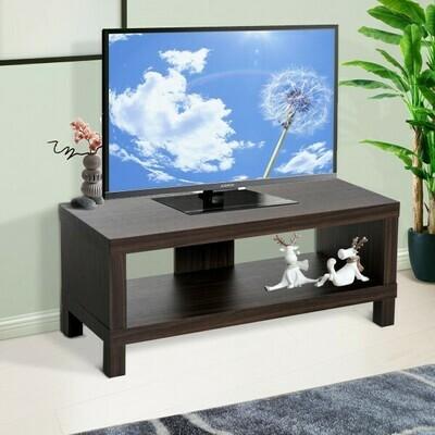 HOMCOM® TV Lowboard Fernsehtisch mit Ablage Walnuss