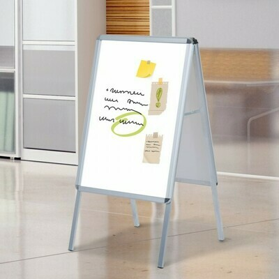 HOMCOM® Plakatständer Kundenstopper Werbeaufsteller DIN A1