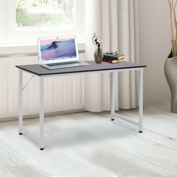 HOMCOM® Schreibtisch Bürotisch Computertisch Großer Desktop MDF