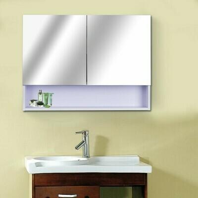 HOMCOM® LED Spiegelschrank Lichtspiegel Wandspiegel 10W