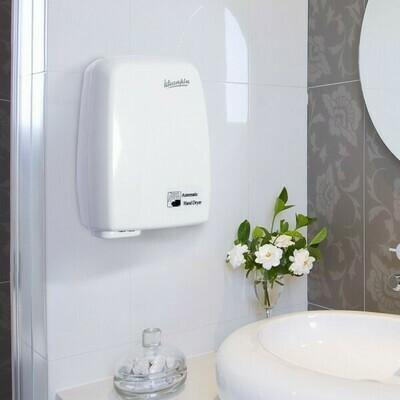 kleankin® Händetrockner Handtrockner Wandmontage Elektrisch Automatisch 1000W Weiß