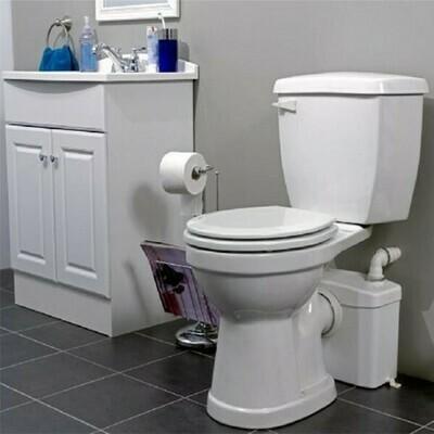 HOMCOM® Hebeanlage / Abwasserpumpe 600W mit 3 Zuläufen