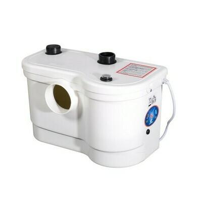 HOMCOM® Hebeanlage / Abwasserpumpe 800W mit 3 Zuläufen