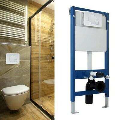 HOMCOM® WC Vorwandelement Spülkasten 107cm Weiss