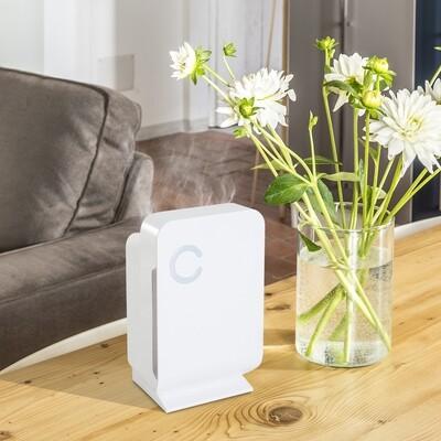 HOMCOM® Luftentfeuchter mit 1300ML Wassertank Weiss