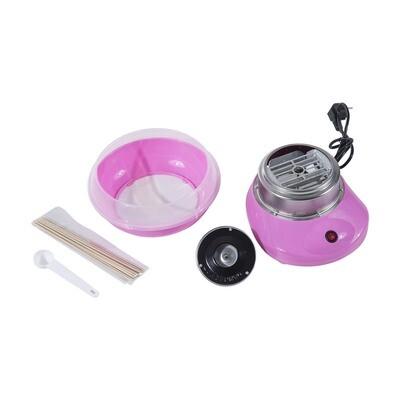 HOMCOM® Zuckerwattemaschine rosa