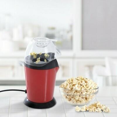 HOMCOM® Popcornmaschine Popcornmaker 1200W rot schwarz