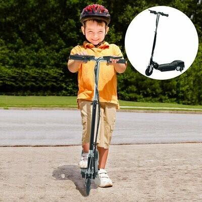 HOMCOM® E-Scooter Kinderroller Cityroller 120W klappbar Schwarz