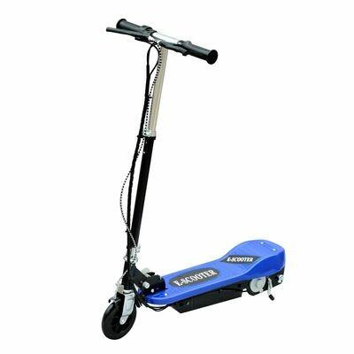 HOMCOM® E-Scooter Kinderroller Cityroller 120W klappbar Blau