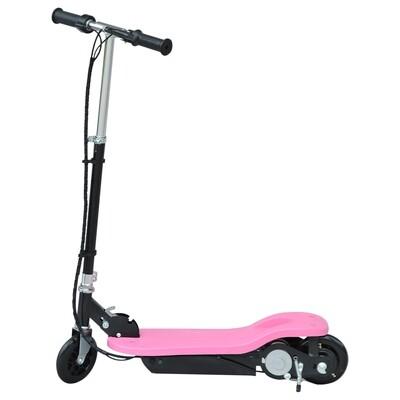 HOMCOM® Elektroroller E-Scooter Tretroller klappbar 120W Rosa