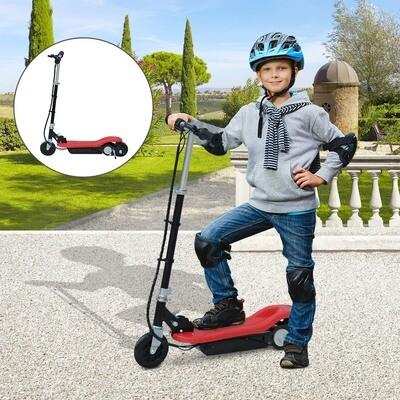 HOMCOM® Elektroroller E-Scooter Tretroller klappbar 120W Rot