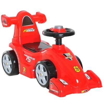 HOMCOM® Rutschauto Kinder Rennauto Kinderauto Formel 1 Rot