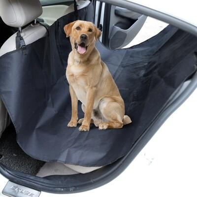 PawHut® Hundeschutzdecke Autodecke Rücksitzdecke schwarz