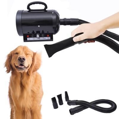 PawHut® Profi Hundeföhn Tierfön 2400W Schwarz