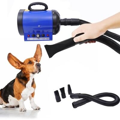 PawHut® Profi Hundeföhn Tierfön Pet Dryer Hundetrockner 2400W Blau