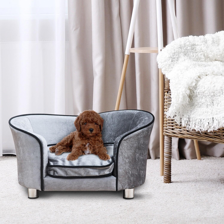 PawHut® Luxus Hundesofa Katzensofa Tier Sofa Hundecouch Couch Hundebett Tierbett