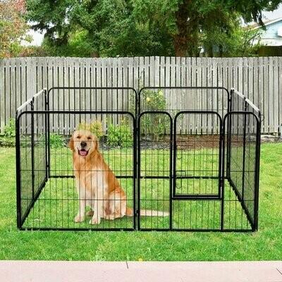 Outlet: PawHut® Welpenauslauf Freilaufgehege für Kaninchen und Kleintiere 80x80 cm