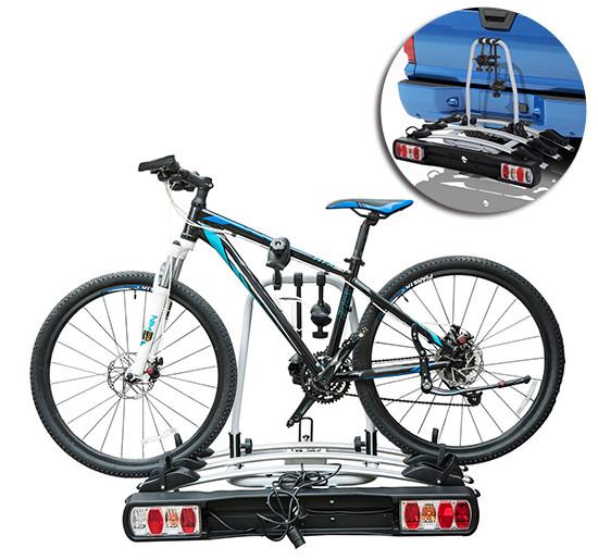 HOMCOM® Fahrradträger Anhängerkupplungsträger für 3 Velos