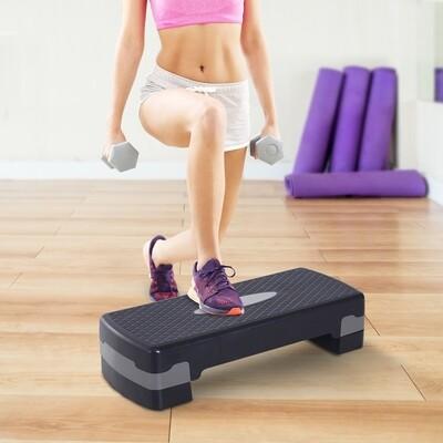 Outlet HOMCOM® Steppbrett Aerobic Fitness Stepper höhenverstellbar