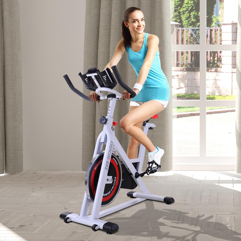 HOMCOM® Ergometer Heimtrainer Fahrradtrainer 8kg Schwungmasse 107x48x100cm