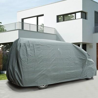 HOMCOM® Abdeckung Schutzhülle für Wohnmobil Grau 580x225x220cm