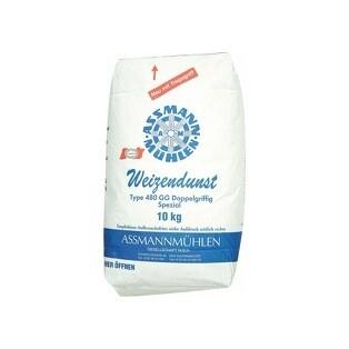 Assmann Weizendunst Mehl doppel griffig Type 480 10 kg Grosspackung