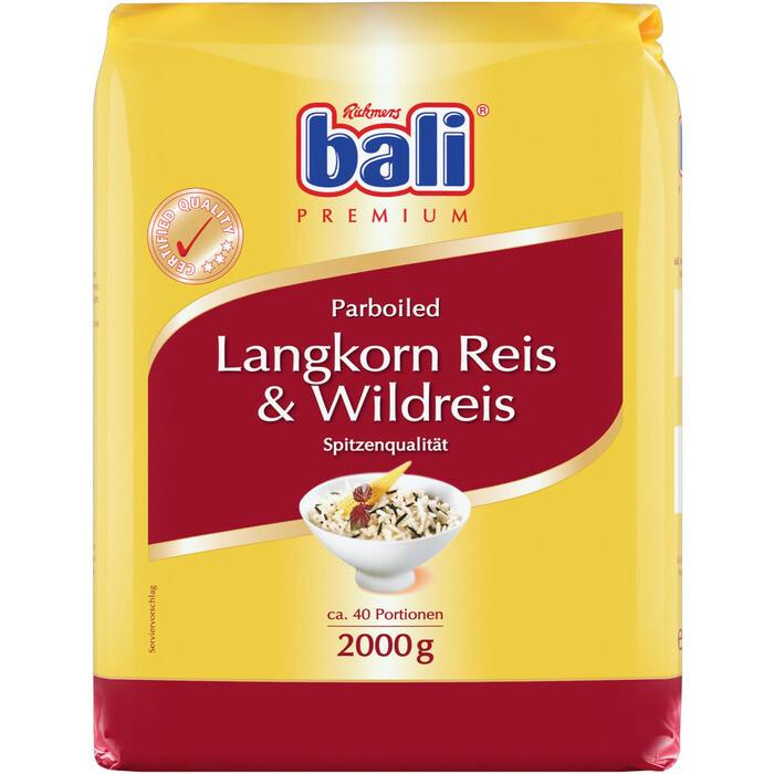 Grosspackung Bali Wildreismix Parboiled 5 x 2 kg = 10 kg
