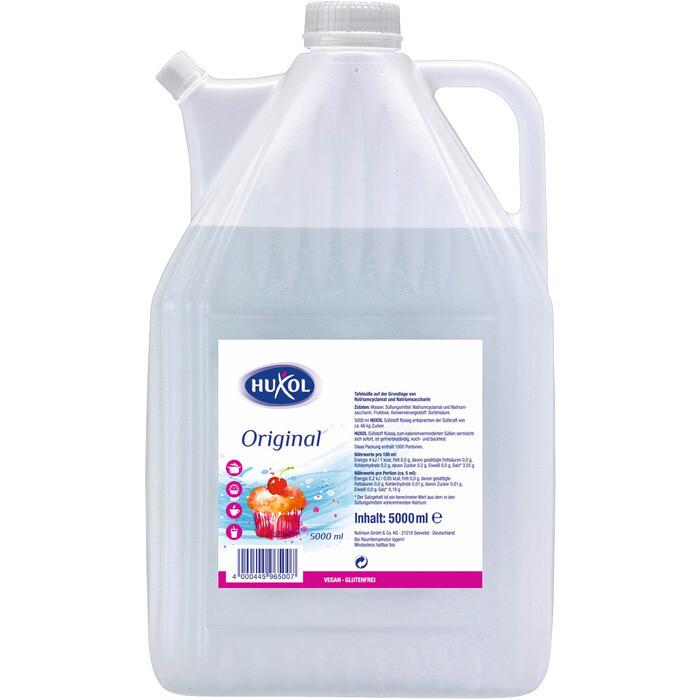 Outlet: Grosspackung Huxol Süssstoff flüssig 5 Liter