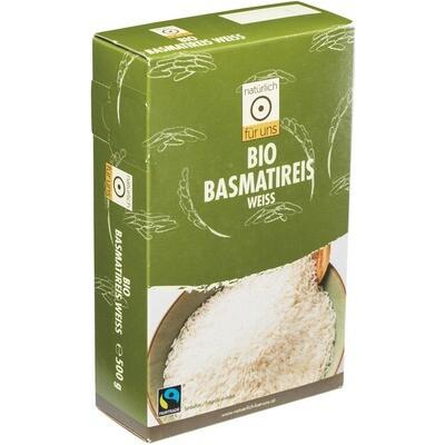 Grosspackung natürlich für uns Bio Basmati hell 4 x 500 g = 2 kg