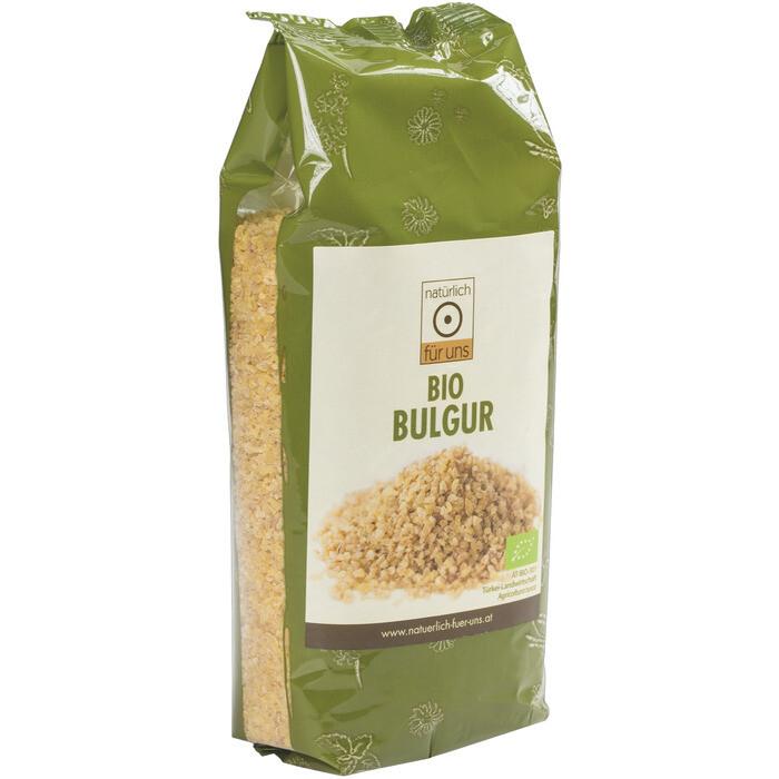 Grosspackung natürlich für uns Bio Bulgur 10 x 500 g = 5 kg