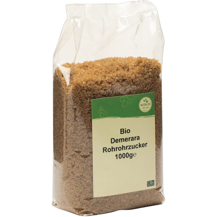 Grosspackung natürlich für uns Bio Demerara Rohrzucker 10 x 1 kg = 10 kg