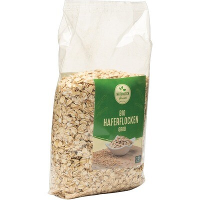 Grosspackung natürlich für uns Bio Haferflocken grob 10 X 500 g = 5 kg