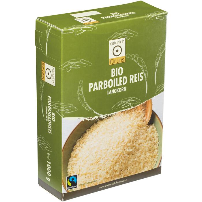 Grosspackung natürlich für uns Bio Langkornreis Parboiled 9 x 1 kg = 9 kg