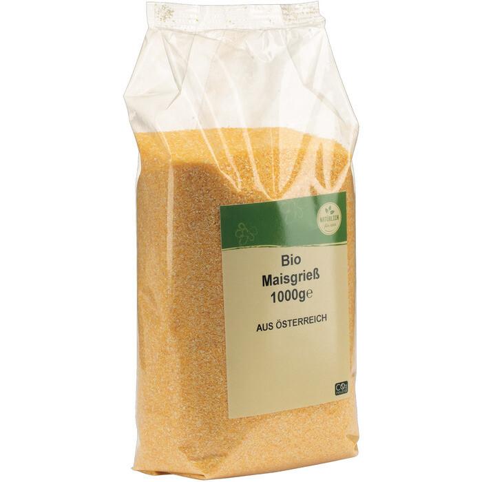 Grosspackung natürlich für uns Bio Maisgriess Polenta 10 x 1 kg = 10 kg