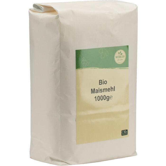 Grosspackung natürlich für uns Bio Maismehl 10 x 1 kg = 10 kg