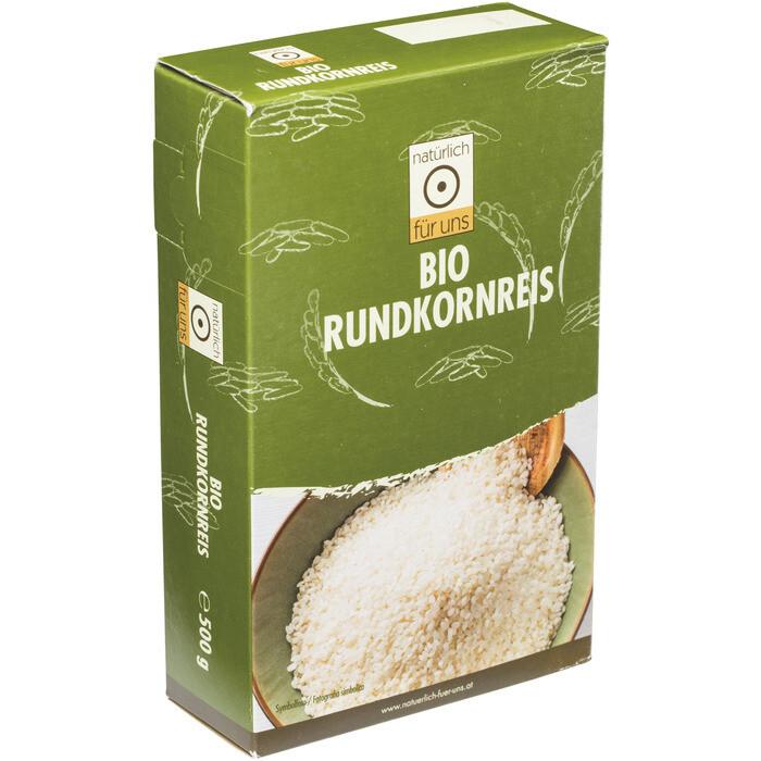 Grosspackung natürlich für uns Bio Rundkornreis 4 x 500 g = 2 kg