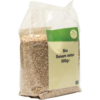 Grosspackung natürlich für uns Bio Sesam natur 10 x 500 g = 5 kg