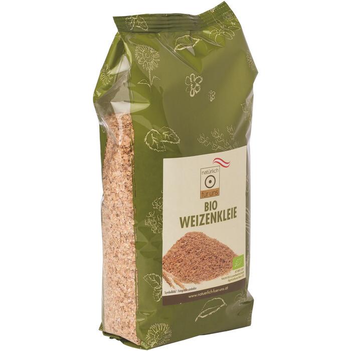 Grosspackung natürlich für uns Bio Weizenkleie 10 x 250 g = 2.5 kg