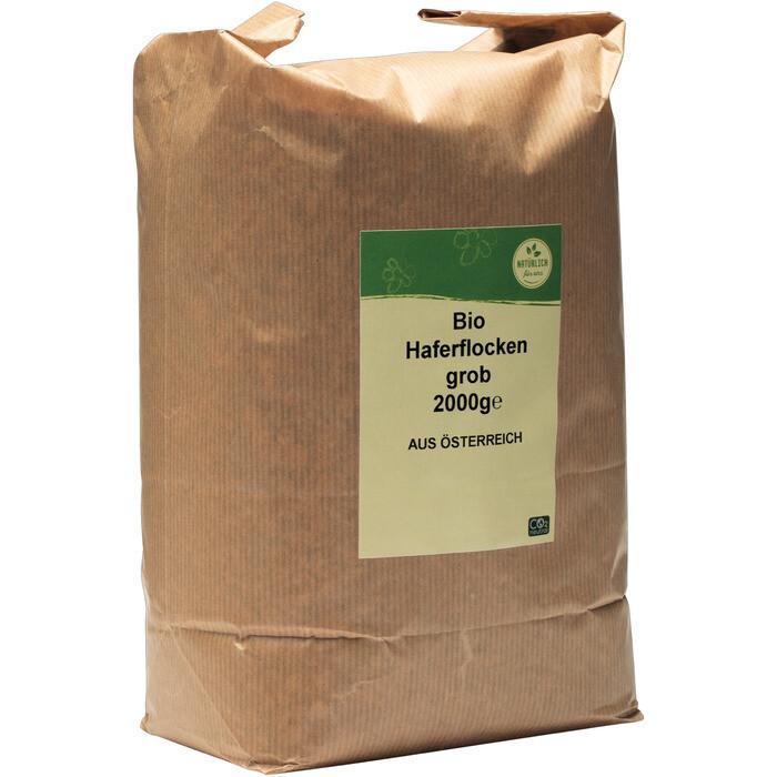 Grosspackung natürlich für uns Bio Haferflocken grob 10 x 2 kg = 20 kg