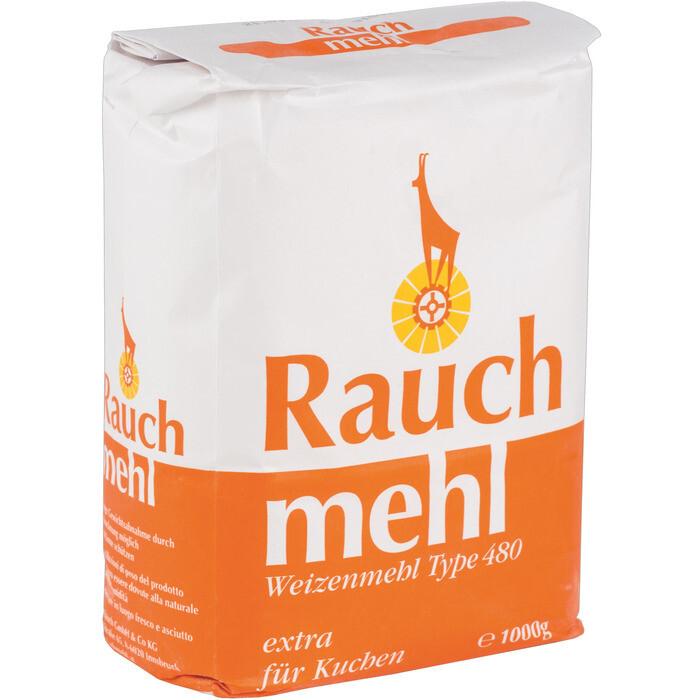 Grosspackung Rauch Weizenmehl Kuchen Type 480 10 x 1 kg= 10 kg
