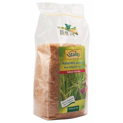 Grosspackung Vitality Naturreis Langkorn Parboiled 3x 4 kg = 12 kg