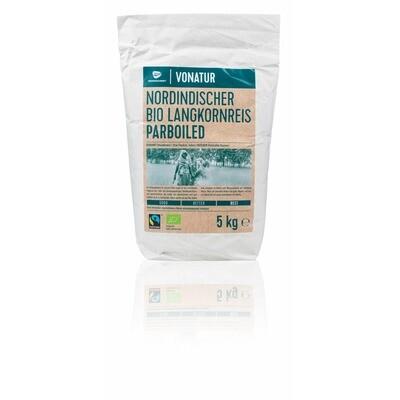 Grosspackung Vonatur Bio Langkornreis Parboiled 5 kg