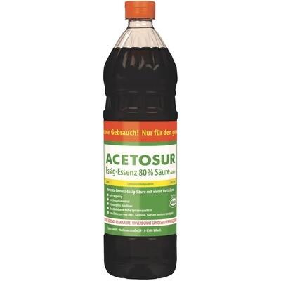 Grosspackung Acetosur Essig Essenz dunkel 6 x 1 kg = 6 kg