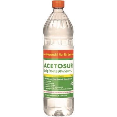Grosspackung Acetosur Essig Essenz hell 6 x 1 kg = 6 kg