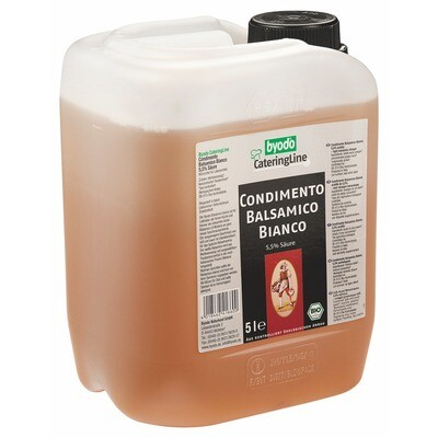 Grosspackung Byodo Bio Balsamico Condimento bianco 5 l
