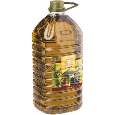 Grosspackung Caballero Olivenöl extra vergine 5 l