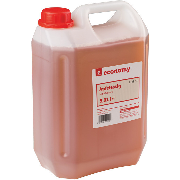 Outlet: Grosspackung Economy Apfelessig 5% 5 l