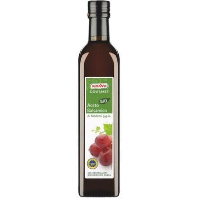 Grosspackung Kotanyi Bio Aceto Balsamico di Modena 6 x 500ml = 3 Liter