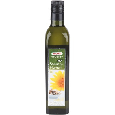 Grosspackung Kotanyi Bio Gourmet Sonnenblumenöl 6 x 500ml = 3 Liter